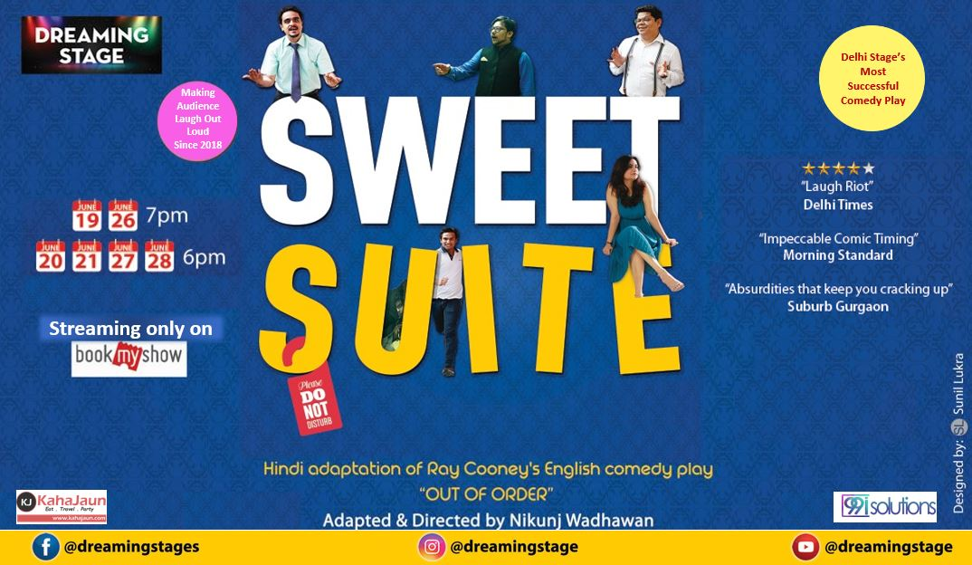 Watch Sweet Suite – Theatre Play on Bookmyshow app now